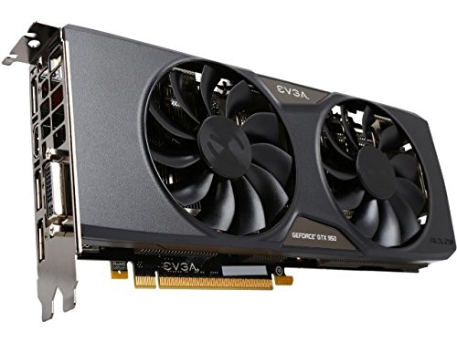 EVGA GeForce GTX 950 2GB SSC GAMING, Silent Cooling Graphics Card 02G-P4-2957-KR