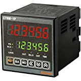 AUTONICS CT6M-2P4 Counter&Timer, W72xH72mm, 6-Digit, LED, 2 Preset, 2 Relay & 3 NPN Output,100-240 VAC..