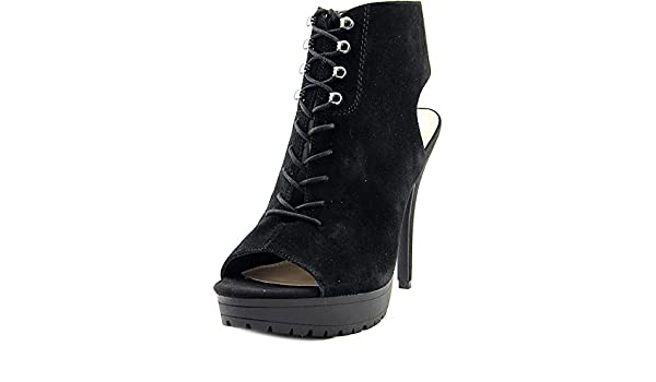 Bar III Emiko Women US 10 Black Platform Heel