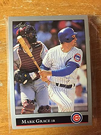 Amazoncom 1992 Leaf Series 1 2 Chicago Cubs Team Set Nm Mt