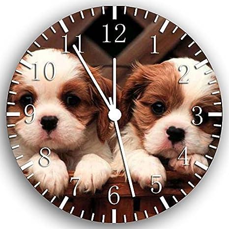 Cavalier King Charles Spaniel Frameless Borderless Wall Clock Gifts Decor W227