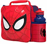Best Marvel Mens Lunch Boxes - Marvel Spider-man 3d Lunch Bag And 500ml Bottle Review