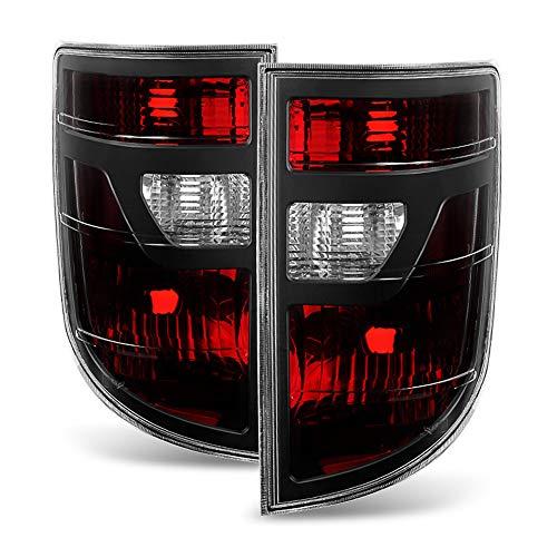 ACANII - For 2006-2008 Honda Ridgeline Dark Red Tail Lights Lights Brake Lamps Left+Right