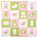Tadpoles Playmat Set, Teddy and Friends Pink