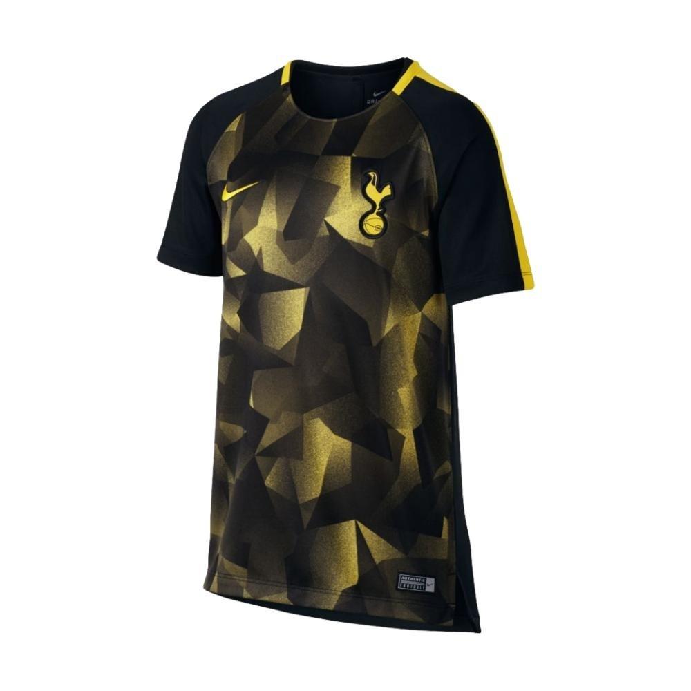 2017-2018 Tottenham Nike Pre-Match Training Shirt (Black) Kids B07457ZLKC XLB 32-35