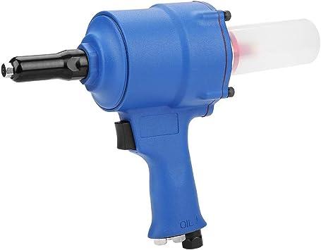 KP-705X Remachadora neum/ática Pistola de agarre Remachadora Pistola de remachado de aire Chuck 2.4-4.8mm entrada de aire de 1//4