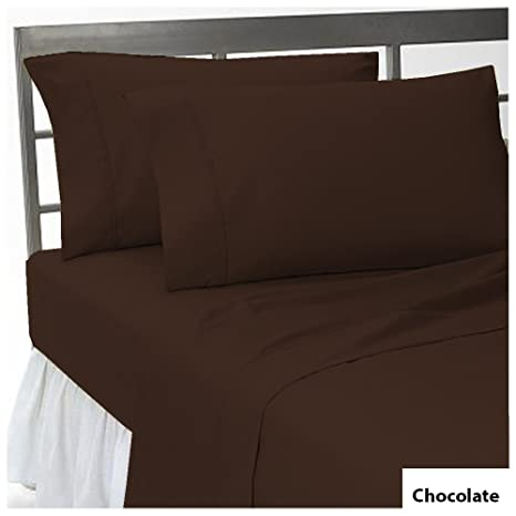 """Egyptian Cotton 1000 TC 18/""""Deep Pocket Fitted Sheet Stripe Colors US Sizes@Sale"""