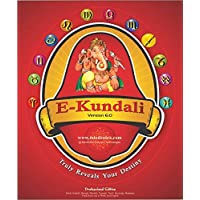 E-Kundali Pro 6.0 ( Language Hindi , English ) Astrology Software (CD)