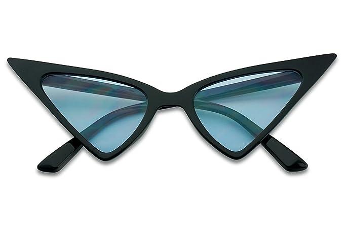 Amazon.com: SunglassUP - Gafas de sol con punta alta, diseño ...