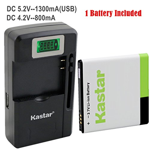 Samsung Captivate I897 Lcd - Kastar Galaxy S1 Battery (1-Pack) and intelligent mini travel Charger ( with high speed portable USB charge function) for Samsung Galaxy S, S1, S I, Vibrant T959, i9000, i9001, Captivate i897, Focus i917, Captivate Glide i927, Epic 4G D700 AT&T, T-Mobile, Sprint, Verizon Smartphone Fit EB575152, EB575152VA, EB575152VU, EB575152LA, EB575152LU, EB575152LAB --Supper Fast and from USA