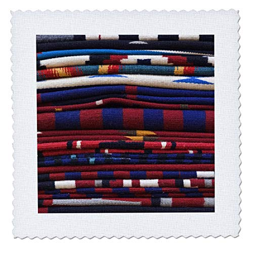 3dRose qs_92948_10 New Mexico, Gallup, Handmade Navajo Rugs, Textile-US32 RTI0048-Rob Tilley-Quilt Square, 25 by 25-Inch