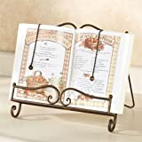 Touch of Class Towley Cookbook Stand Antique Bronze