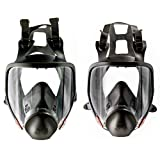 3M Full Facepiece Reusable Respirator 6900, Respiratory Protection, Large (Pack of 1) and Full Facepiece Reusable Respirator 6800, Respiratory Protection, Medium(Pack of 1) bundle