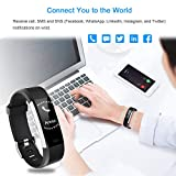 LETSCOM Fitness Tracker HR, Activity Tracker