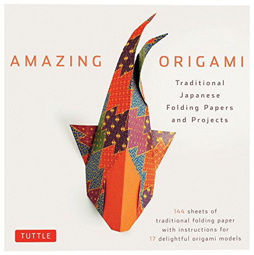 Amazing Origami Kit: Traditional Japanese Folding Papers and Projects [144 Origami Papers with Book, 17 Projects] -