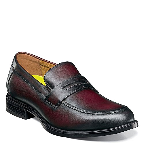 Florsheim Heren Penny Slip-on Bordeauxrood Glad