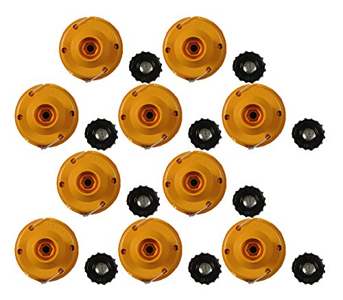 Ryobi RY30524 Trimmer (10 Pack) Replacement .080 Complete Stringhead # 000998360-10pk by Homelite