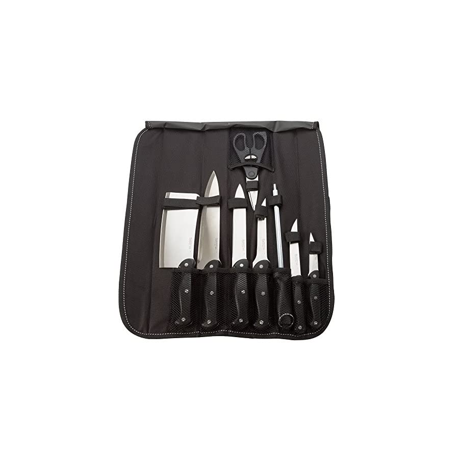 Berghoff Knife Set with Roll Bags 17 Pieces