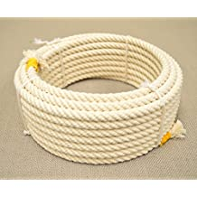 32 Ft White Rodeo Kids Lasso Rope Rodeo Lariat Roping Gear