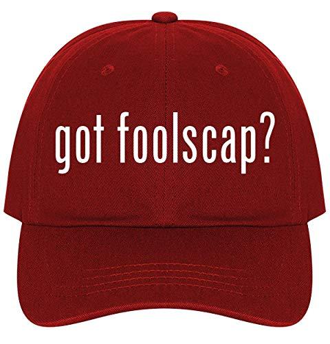 got Foolscap? - A Nice Comfortable Adjustable Dad Hat Cap, Red