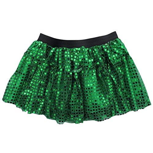 Sparkle Running Skirt Race Tutu - Size 6-16, Costume, Princess, Ballet, Dress-Up, 5K 10K (S/M, Kelly (5 Below Halloween Costumes)