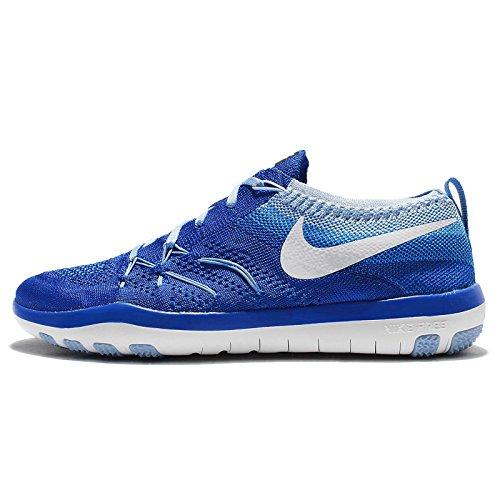 best website 5dd84 37a47 Galleon - Nike Womens Wmns Free TR Focus Flyknit, RACER BLUE WHITE-BLUECAP,  9 US