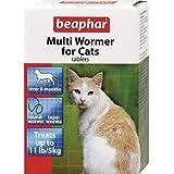 2X Beaphar Multi-Wormer for Cats 12 per Pack