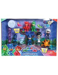 Just Play PJ Masks Deluxe Figure Set Toy Figure (Includes Nin...