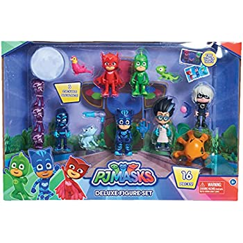 Just Play PJ Masks Deluxe Figure Set Toy Figure (Includes Ninjalinos)