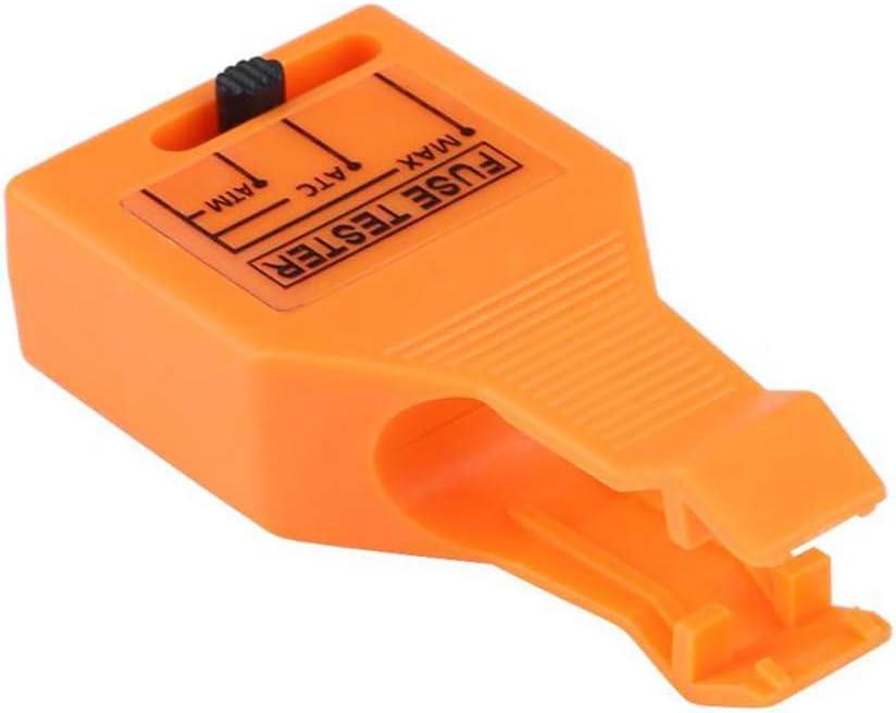 und Maxi-Kfz-Sicherungen aus Kunststoff Sicherungstester Multifunktionaler Kfz-Sicherungstester f/ür Mini//Standard