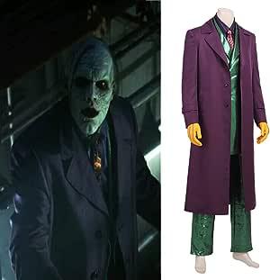 Rubyonly Carnival Batman Cosplay Traje de Halloween Joker Jerome ...