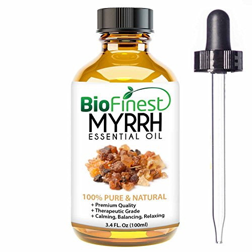 - BioFinest Myrrh Oil - 100% Pure Myrrh Essential Oil - Premium Organic - Therapeutic Grade - Best For Aromatherapy - Boost Immune System - Heal Wound - FREE E-Book (100ml)