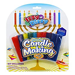 Izzy n Dizzy Hanukkah Candle Making Kit - Includes