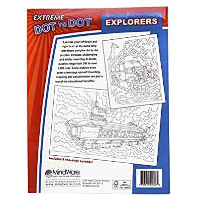 Extreme Dot to Dot: Explorers: Adam Turner: Toys & Games