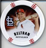 2013 Topps Chipz Baseball Poker Chip - Carlos Beltran