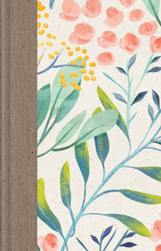 ESV Large Print Thinline Reference Bible (Berries and Blooms) ()