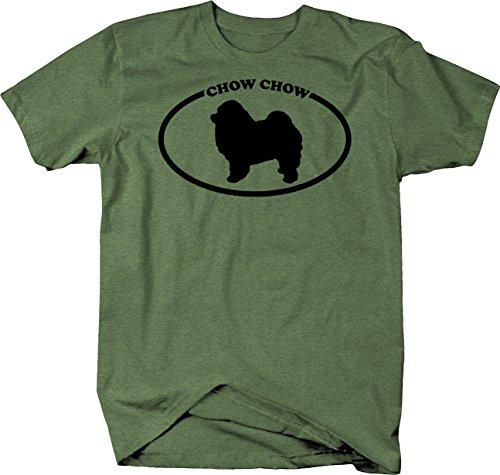 Chow Dog T-shirt - Novelty Inc Chow Dog Breed Tshirt - Medium