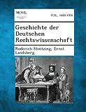 Geschichte der Deutschen Rechtswissenschaft, Roderich Stintzing and Ernst Landsberg, 1287361196