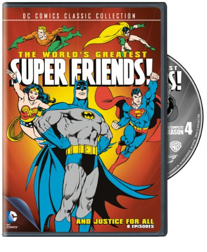 DVD : World's Greatest SuperFriends: The Complete Season Four: And Justice for All (Full Frame, , Eco Amaray Case)