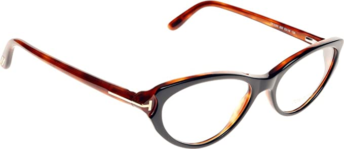 20d24c82e4 Image Unavailable. Image not available for. Color  TOM FORD Eyeglasses  FT5285 005 Black 53MM