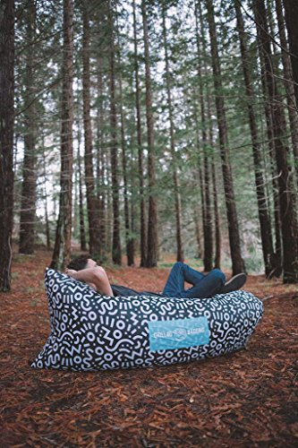 CHILLBO Best Inflatable Lounger Hammock Air Sofa and Ships IDEAL GIFT Indoor or Outdoor or Camping Festivals