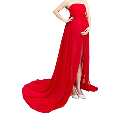 474649f246 Maternity Dresses Maxi Strapless Gown