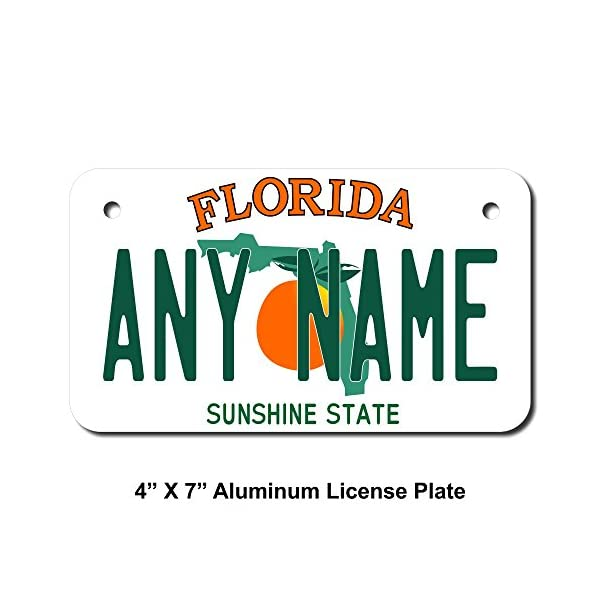 front license plates decorative