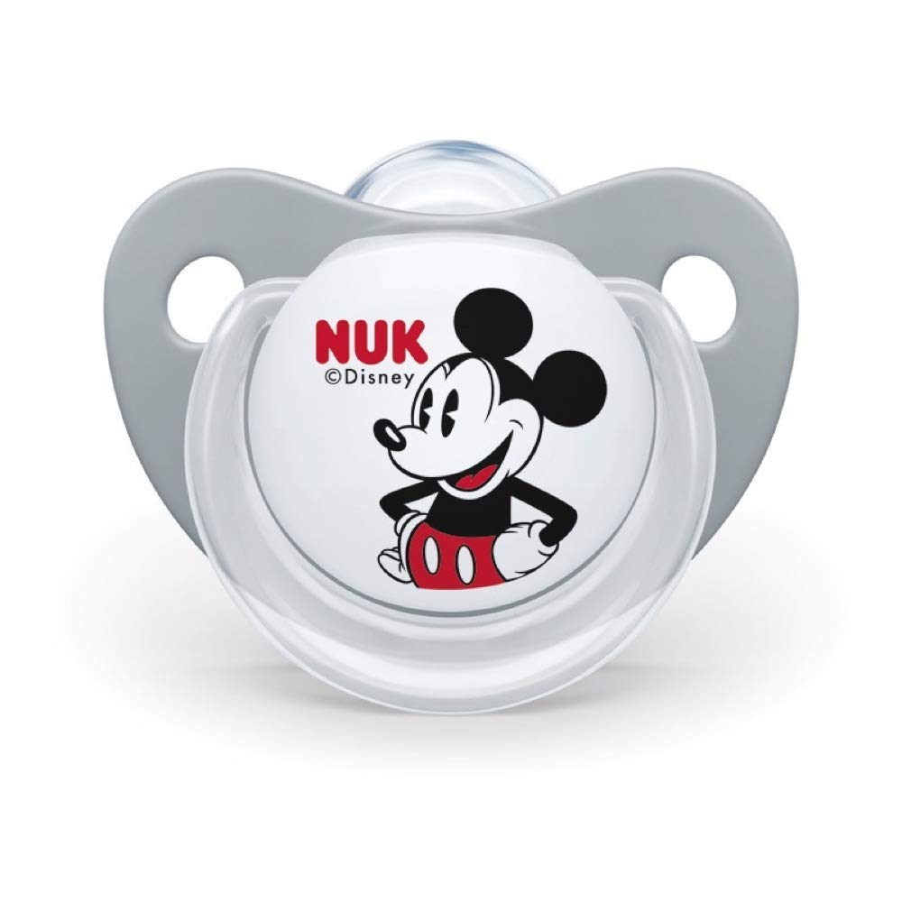 Amazon.com: NUK Mickey Mouse Orthodontic Soother Pack -0.0 ...