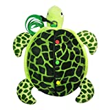 Monique Baby Toddler Anti-Lost Safety Harness Little Kids Turtle Strap Backpack with Leash 1-6 Years Old