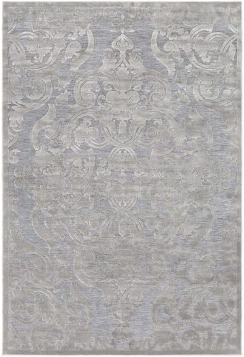 Ophelia Co Quimir Transitional Silver Gray Area Rug Rectangle 2 X 3 Amazon Ca Home Kitchen