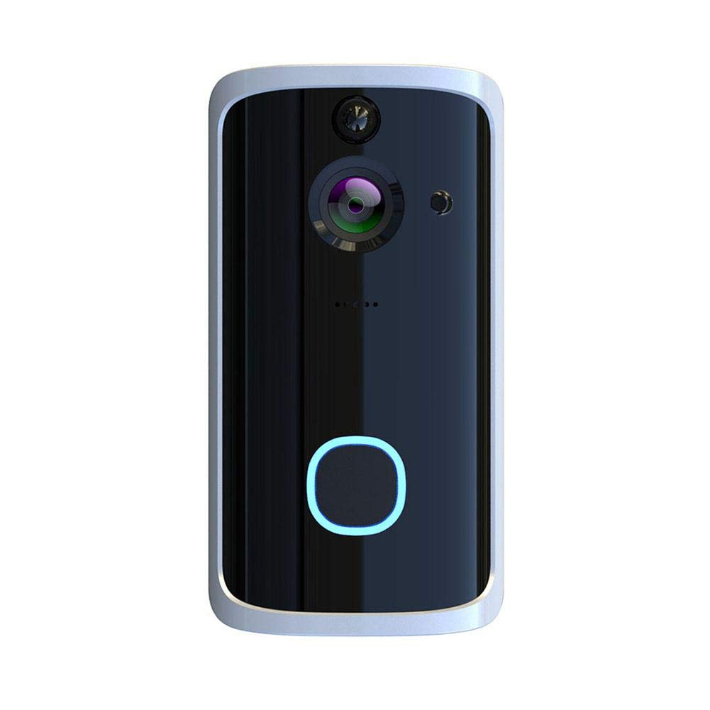 Yunn Scout Alarm Home Security System, Intelligent WiFi Video Doorbell Home Monitoring Video Voice Intercom