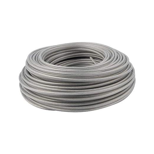 SNIIA 2.4mmx80m / 3.0mmx60m Tire De La Cuerda del Cable del ...