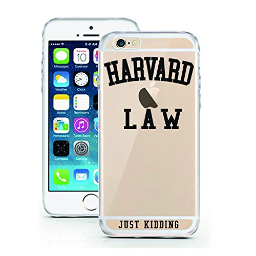 iPhone 5 5S SE Case by licaso for the iPhone 5 5S SE TPU Disney Harvard Law - Just kidding Case Clear Protective Cover iphone5 Mobile Phone Sleeve Bumper (iPhone 5 5S SE, Harvard Law)