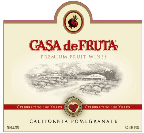 2012 Casa de Fruta Pomegranate Wine 750 mL